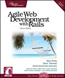 img - for Agile Web Development with Rails (Pragmatic Programmers) 3rd (third) Edition by Sam Ruby, Dave Thomas, David Heinemeier Hansson published by Pragmatic Bookshelf (2009) book / textbook / text book