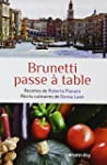 BRUNETTI PASSE � TABLE