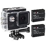 SJCAM Original SJ4000 WiFi Version Full HD 1080P 12MP 2.0'' LCD Diving Bicycle Action Camera(Black) + Extra 1 Battery