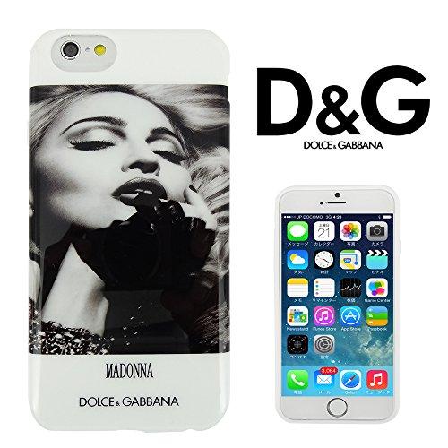 【 DOLCE&GABBANA 】 iPhone6用ケース(4.7インチ) ドルチェ&ガッバーナ マドンナ デザイン D&G 603