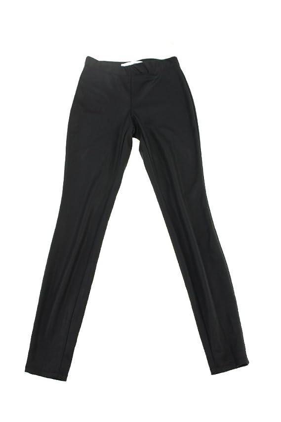 Studio M Faux-Leather Leggings Women's Casual Pants