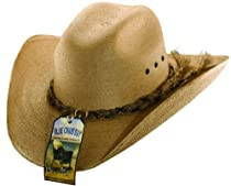 Blue Chair Bay Copper Shapeable Palm Leaf Western Hat-Copper-S/M