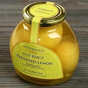 Amazon.com : Moroccan Preserved Lemons (10.7 ounce) : Lemons Produce ...