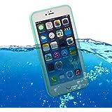 youcase - Apple iPhone 6 6S Waterproof Case Tasche Wasserdicht Outdoor Handy H�lle Wasserfest gr�n wei� Serie A