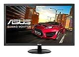 Asus VP228H 54,7 cm (21,5 Zoll) Monitor (VGA, DVI, HDMI, 1ms Reaktionszeit) schwarz