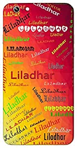 Liladhar (Lord Vishnu) Name & Sign Printed All over customize & Personalized!! Protective back cover for your Smart Phone : Moto G3 ( 3rd Gen )