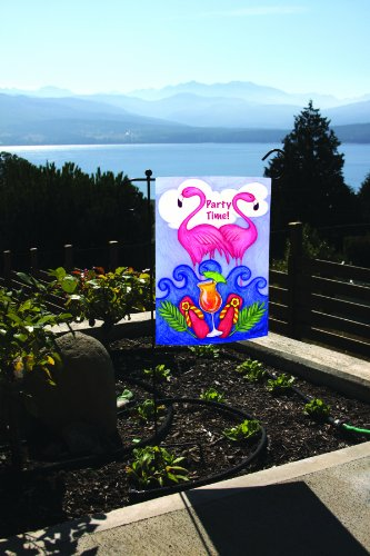 Toland Home Garden Get Your Pink On 12 5 X 18 Inch