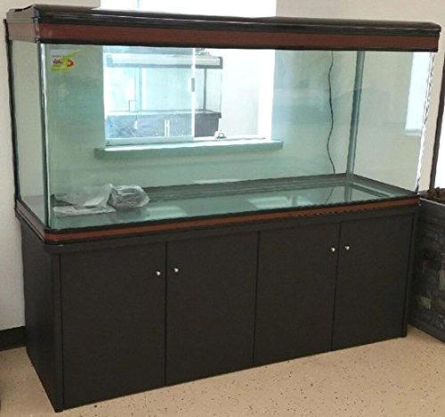 200-gallon-glass-fish-tank-reef-aquarium-with-filter-system-t8-lighting-system-and-cabinet-stand-for