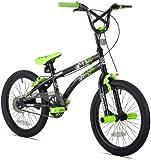 X-Games FS-18 Boys Bike (18-Inch Wheels), Black/Green