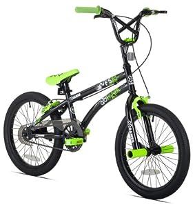 X-Games FS-18 Boys Bike (18-Inch Wheels), Black Green by X Games