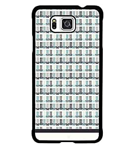 PrintDhaba Legs Pattern D-1531 Back Case Cover for SAMSUNG GALAXY ALPHA (Multi-Coloured)