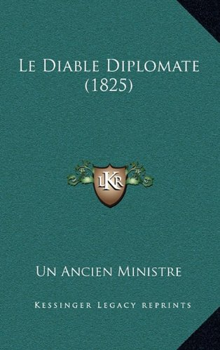 Le Diable Diplomate (1825) (French Edition)
