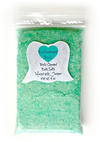 8-oz-net-wt-reiki-charged-juniper-bath-salts-pink-himalayan-halite-epsom-infused-with-essential-oil