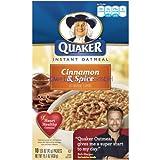 Quaker Instant Oatmeal - Cinnamon & Spice (10x43g)