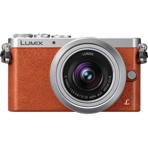 Panasonic Dmc-Gm1Kd 12-32Mm Silver Kit Lens 16Mp Compact System Camera With 3-Inch Lcd (Orange)
