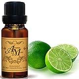Lime Essential Oil 100% (Mexico) (Citrus aurantifolia) (Citrus Scent) 100 ml (3 1/3 Fl Oz)-Beauty