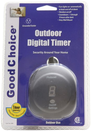 Good Choice 606 Outdoor Daily Electronic Heavy Duty Countdown Timer