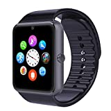 Evershop® Newest SIM Card NFC Bluetooth Smart Watch Wristwatch Phone Mate Independent Smartphone with SIM Card for Android IOS (Grey)