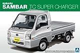 青島文化教材社 1/24 ザ・ベストカーGTシリーズ No.80 スバル 12 サンバートラック TCスーパーチャージャー プラモデル