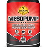 #1 Pure Nitric Oxide Supplements Muscle Building And Energy With L-Arginine | MESOPUMP Is BEST In Nitric Oxide Boosters With A 100% Money Back Guarantee! | Quality Endurance & Performance NO2 + Amino + Extracts With Arginine | Made In USA | By Mesomorph Labs