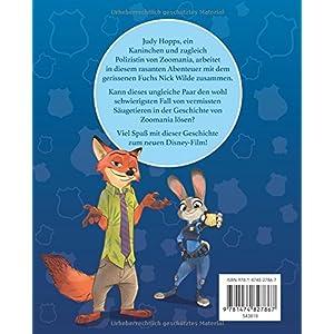 Zoomania: Das Buch zum Film mit magischem 3D-Cover