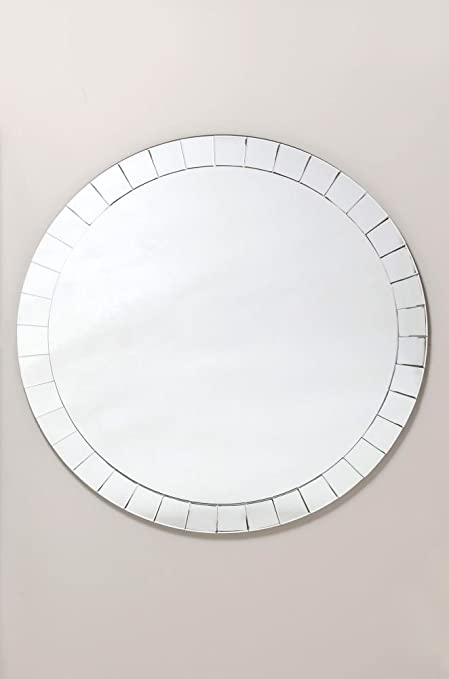 Cotterell & Co Hella Large Plain Round Mirror