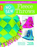 img - for No-Sew Fleece Throws (6564) book / textbook / text book