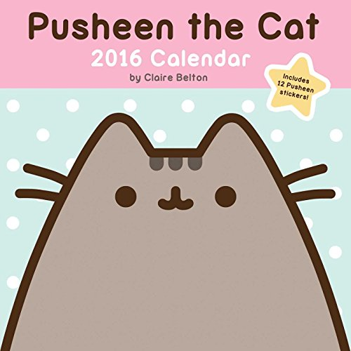 Pusheen the Cat 2016 Wall