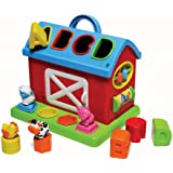 Infantino Barn Shape Sorter (Discontinued by Manufacturer)