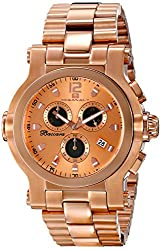 Oceanaut Mens OC0825 Baccara XL Analog Display Quartz Rose Gold Watch