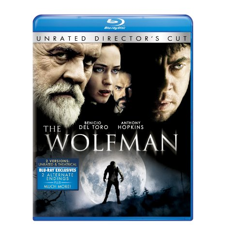 Cover art for  The Wolfman (2010) (Blu-ray + Digital Copy)