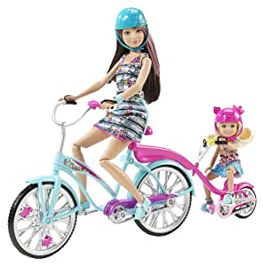 Barbie Sisters Tandem Bike Playset