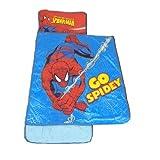 Marvel Spiderman Plush Nap Mat, 46 by 20-Inch