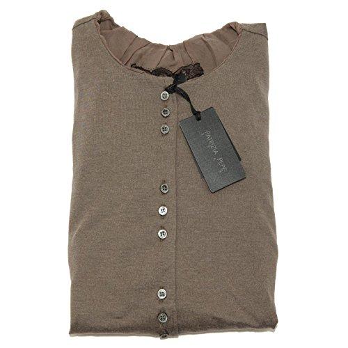3735F camicetta maglia PATRIZIA PEPE MANICA LUNGA camicia donna t-shirt women [1/XS]