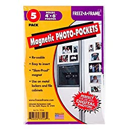 package = Set Of 5 Freez-A-Frame, Magnetic 4\