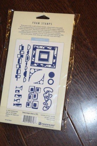 TEXTURES: RETRO Foam on Foam Stamps InkaDinkaDo textures retro foam on foam stamps inkadinkado