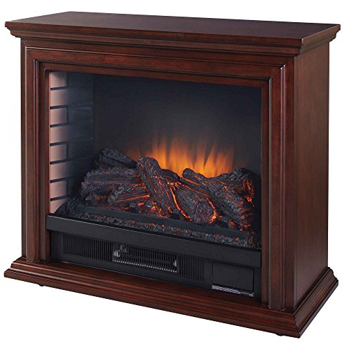 Nice Hearth GLF-5002-68 Sheridan Mobile Fireplace