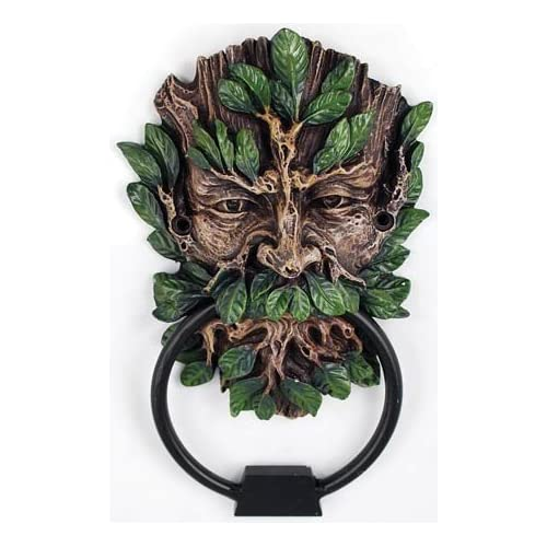 Celtic greenman green man door knocker - Greenman door knocker ...