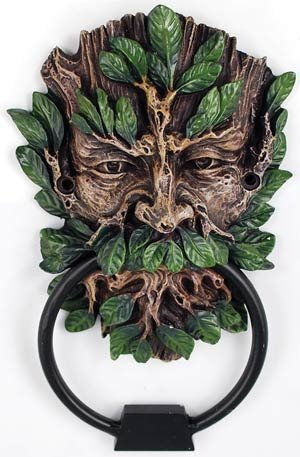Celtic GreenMan Green Man Door Knocker 0