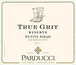 2013 Parducci True Grit Reserve Petite Sirah Mendocino County 750 mL Wine