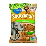 Barbara's Bakery Snackimals Animal Cookies, Oatmeal, 2.125-Ounce Bags (Pack of 18) ~ Barbara's Bakery