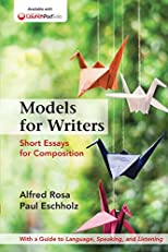 Models for Writers: Short Essays for Composition, High School Version