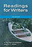 img - for By Jo Ray McCuen-Metherell Readings for Writers (14th Edition) [Paperback] book / textbook / text book