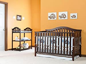 Nursery 101 Sidney Convertible Crib, Classic Cherry (Discontinued by Manufacturer)