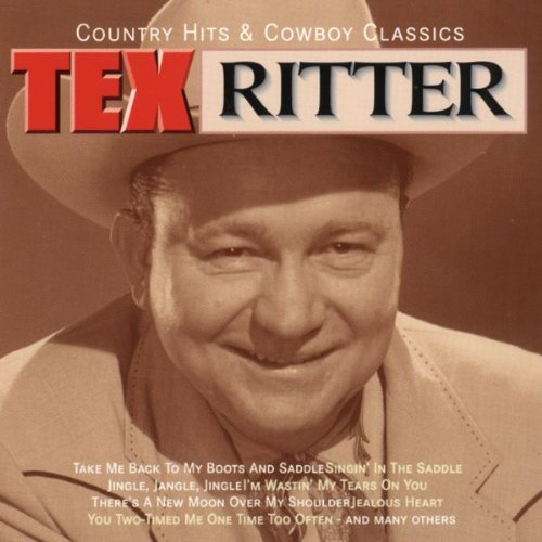Country-Hits-and-Cowboy-Classics-Tex-Ritter-Audio-CD