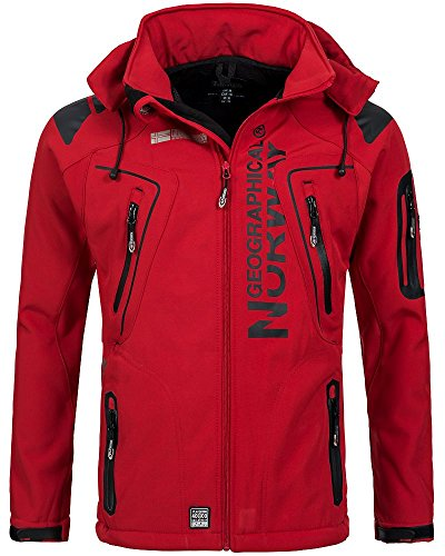 Geographical Norway Herren Softshelljacke Tambour Kapuze