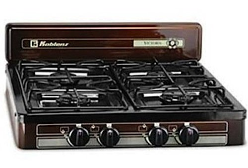 Gas Stove Top Burner front-1969