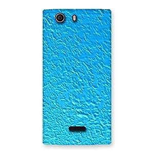 Ajay Enterprises Fill Blue RPattern Back Case Cover for Canvas Nitro 2 E311