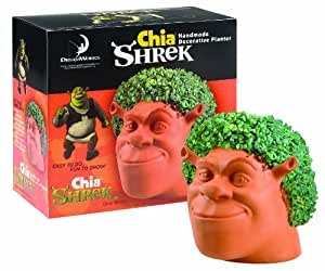 Chia Shrek Handmade Decorative Planter, 1 Kit (Discontinued by Manufacturer)