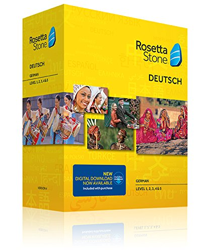 Learn German: Rosetta Stone German - Level 1-5 Set